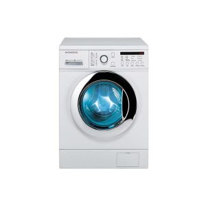 ماشین لباسشویی 8 کیلویی دوو سفید درب سفید مدل DWK-8212T