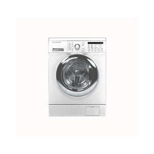 ماشین لباسشویی 8 کیلویی دوو سفید درب کروم مدل DWK-8214C2