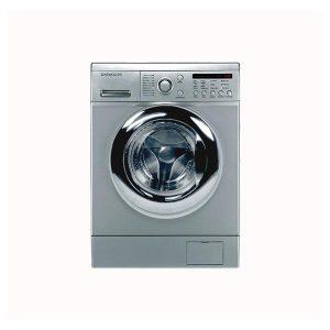ماشین لباسشویی دوو 8 کیلویی 1400 نقره ای مدل DWK-8214S3
