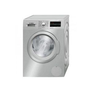 ماشین لباسشویی بوش سری 6 مدل WAT2446XIR رنگ نقره ای استیل
