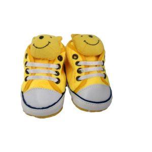 پاپوش نوزادی دیزنی مدل وینی پو زرد TK965