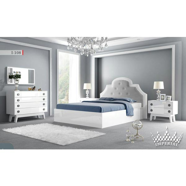 سرویس خواب دو نفره امپریال مدل I_108 - فروشگاه اینترنتی بازارشب