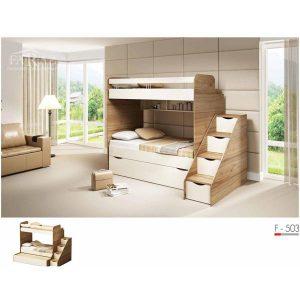 سرویس خواب دو طبقه نوجوان فراز مدل F_503