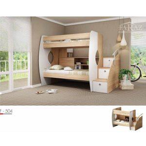 سرویس خواب دو طبقه نوجوان فراز مدل F_504