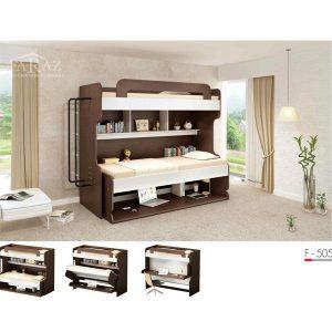 سرویس خواب دو طبقه نوجوان فراز مدل F_505