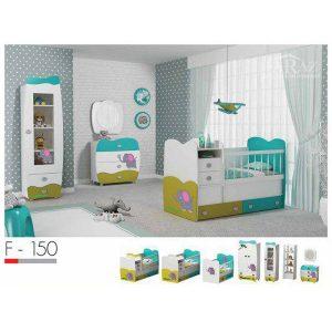 سرویس خواب نوزاد فراز مدل F_150