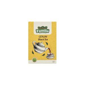 چای ساده سیلان شکسته زرین 450 گرمی فامیلا