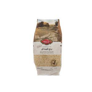 برنج قهوه ای گلستان 900 گرمی