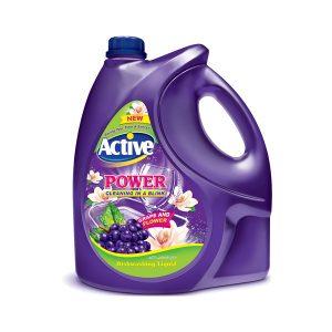 مایع ظرفشویی 4 لیتری با رایحه انگور اکتیو