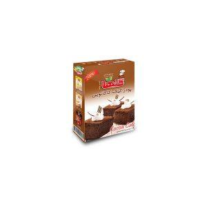 پودر کیک کاکائو نیمه آماده جعبه ای 450 گرمی گلها
