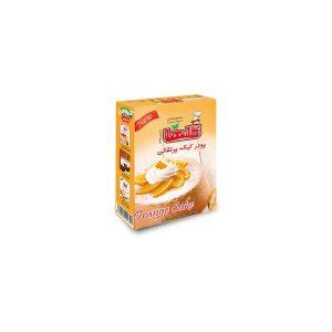 پودر کیک پرتقالی نیمه آماده جعبه ای 450 گرمی گلها