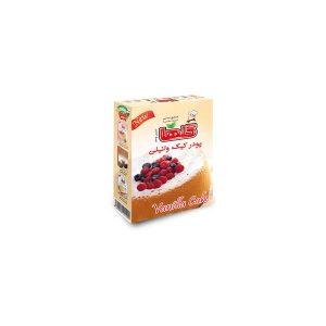 پودر کیک وانیلی نیمه آماده جعبه ای 450 گرمی گلها