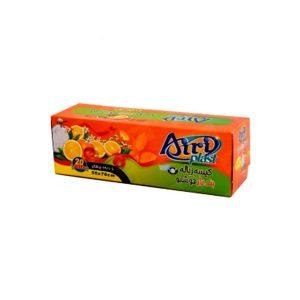 کیسه زباله بندار خوشبو متوسط پرتقالی ایری پلاست 20 عددی