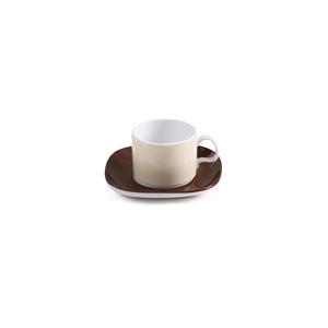 سرویس چای خوری 12 پارچه چینی زرین مدل کاراملسرویس چای خوری 12 پارچه چینی زرین مدل کارامل