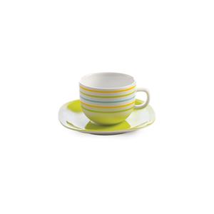 سرویس چای خوری 12 پارچه چینی زرین مدل مایورکا
