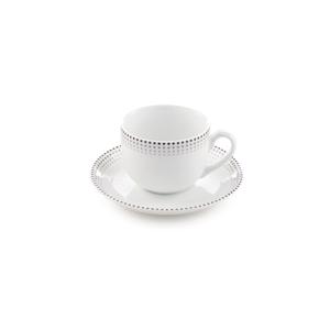 سرویس چای خوری 12 پارچه چینی زرین مدل مون بلان