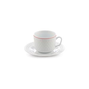 سرویس چای خوری 12 پارچه چینی زرین مدل رزمونت