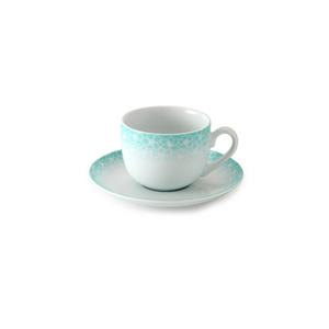 سرویس چای خوری 12 پارچه چینی زرین مدل ساکورا آبی