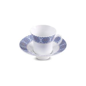 سرویس چای خوری 12 پارچه چینی زرین مدل سلطانیه طلایی