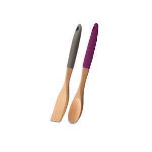 سرویس کفگیر و قاشق چوبی 2 پارچه کرکماز مدل ناتورا کد 02-566