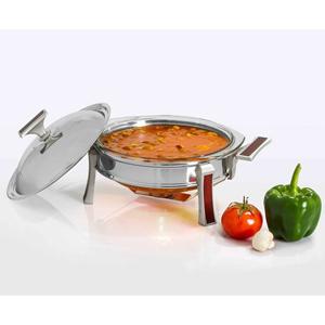 سوپ خوری کوچک تک استیل سری طرح چوب