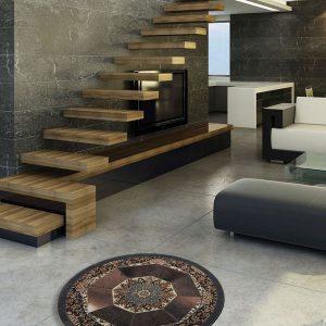 پوست و فرش گرد کرامتیان مدل اصفهان