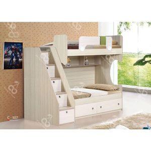 سرویس خواب دو طبقه نوجوان چری مدل c-507