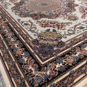 فرش 12 متری 8 رنگ تندیس کاشان مدل فلورا