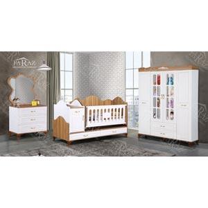 سرویس خواب نوزاد و نوجوان سه منظوره فراز مدل f-152