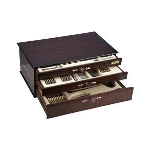 سرویس قاشق و چنگال 116 پارچه ناب استیل مدل ونیز