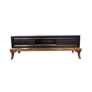 میز تلویزیون ناژینو رنگ مشکی کد 222160