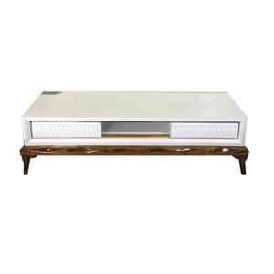 میز تلویزیون ناژینو سفید کد 222160