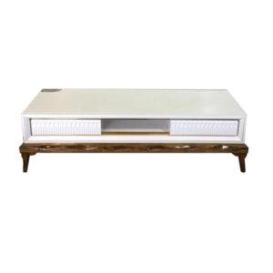 میز تلویزیون ناژینو سفید مدل 222180